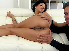 Outstanding brown honey Mia Austin is a marvelous fuck toy