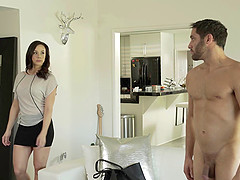 Is the sexy Chanel Preston ready for the doggy style penetration?